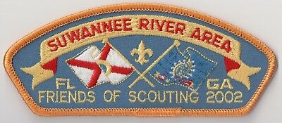 Suwannee River Area Council FOS 2002 CSP  Boy Scout
