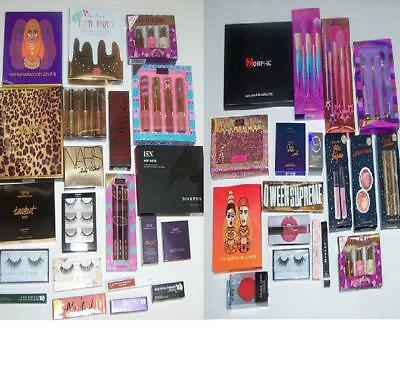 MAKEUP Beauty BOX LOT HIGH END BRANDS NEW $225 Value Full Sizes LIFE WITH MAK