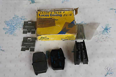 LOTUS ESPRIT S1-S2  A082J6058F / A079J6024F LUCAS GIRLING Brake pads NEW