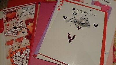 Joblot of Valentines Day greetings cards - x25