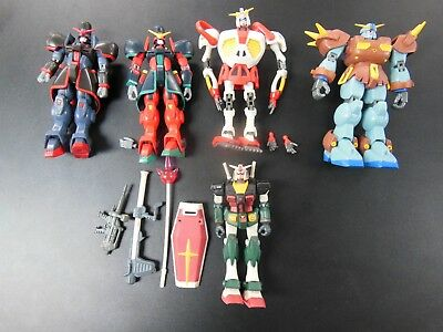 GUNDAM Action Figure Lot Sa-s Bandai 1999 - 2002 5 figures