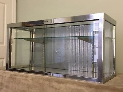 Metal And Glass Display Case By Bloomfield Industries.