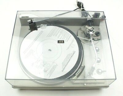 Technics By Panasonic SL-1950 Direct Drive Automatic System Vintage Turntable