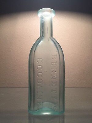 BURNETT'S COCOAINE ... Bottle