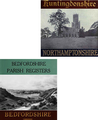 Bedfordshire history plus Kelly's & local directories ebooks genealogy on disc Antyki i Sztuka
