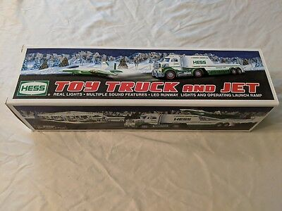 Hess Toy Truck And Jet 2010 Lights Sound - Launch Ramp NEW In Box!
