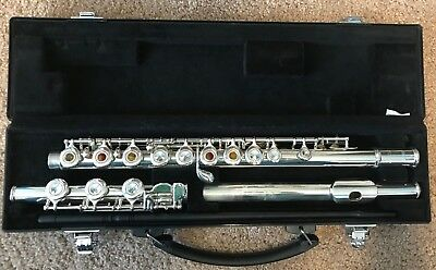 Yamaha YFL-381H Intermediate Open Hole Flute with Case
