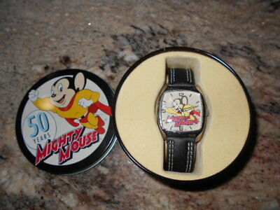 2005 Mighty Mouse 50 Years Wrist Watch