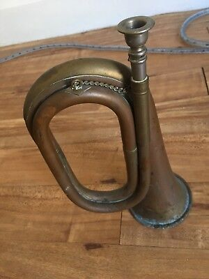 VINTAGE BUGLE HORN JOHN GREY AND Son UNTOUCHED CONDITION