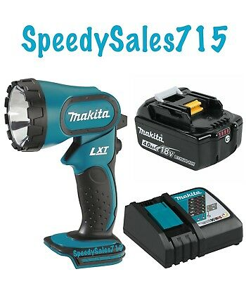 Makita DML185 LXT Xenon Flashlight 18V BL1840 W/ Charger and Battery