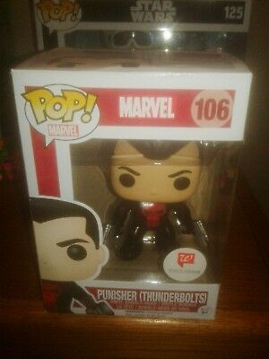 Pop Funko Marvel #106 Punisher (Thunderbolts) Walgreens Exclusive Vinyl Figure