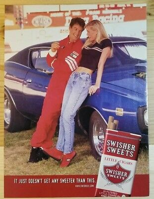 Swisher Sweets - Little Cigars - 80's Print Ad