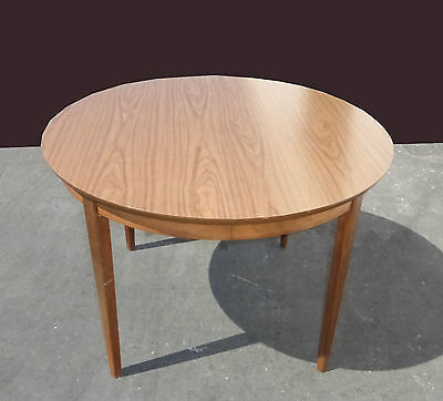 Vintage Mid Century Dining Room Table Card Table by Stanley