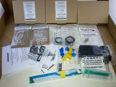 Seal O-Ring Rebuild Kit For Abc Valve Block Mercedes Benz S W220 Cl C215 Sl R230