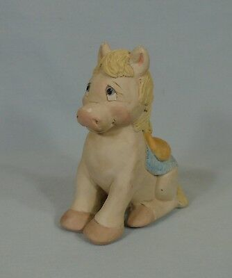 """Seated Dreamsicle Pony 4"""" c 1996"""