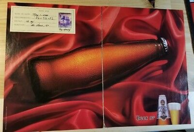 Michelob Light Beer - Centerfold - Dated 2000 Print Ad