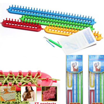Pro Knitter Looms Crocheting&Knitting Ring Set Pompom Maker Craft Kit Hat Maker