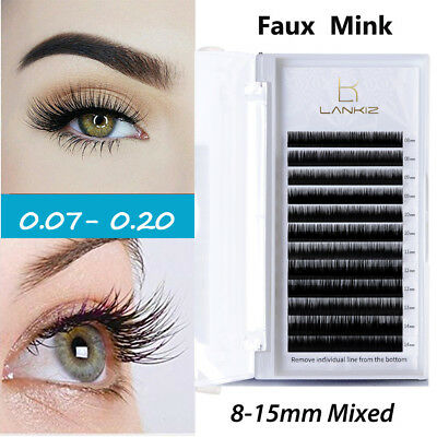INDIVIDUAL D CURL Mink lashes Eyelashes Extensions 0 15 0 20 9 -12
