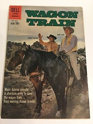 1960 Dell Wagon Train #7 The Phantom Bluecoats Very Nice Ungraded Comics