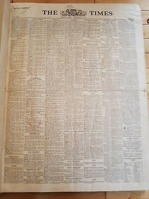 THE TIMES NEWSPAPER Royal Edition Bound Sept - Oct 1939 WORLD WAR II LONDON WWII