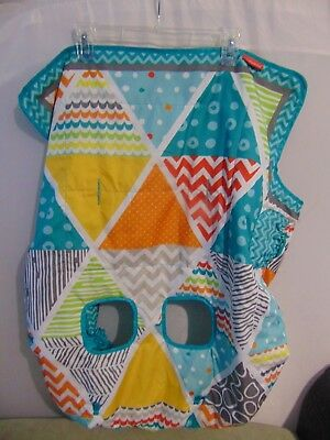 Infantino Compact Cart Cover, Teal