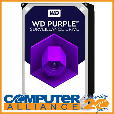 "10TB WD 3.5"" SATA 6Gb/s Purple SV HDD PN WD101PURZ"