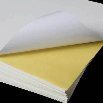100 Sheets A4 Strong Self Adhesive Label Sticker Office Printing Paper 21*29cm