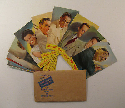 Lot of 16 Vintage RCA Band Leaders & Recording Artists Post Cards & Envelope