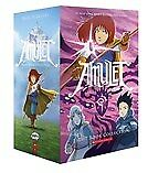 New Amulet Eight Book Collection By Kazu Kibuishi