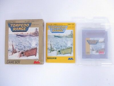 Nintendo GB Game Boy Soft Torpedo Range Japan import JP