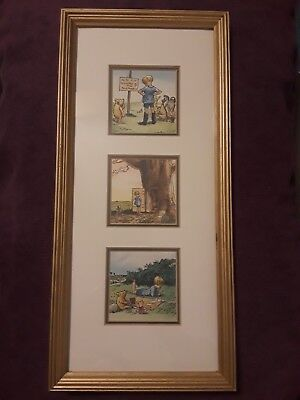 Disney Classic Winnie the Pooh & Christopher Robin Framed Wall Art