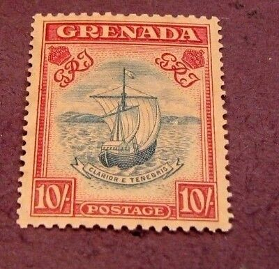 Grenada Stamp Scott# 142b Seal of Colony 1938  MH   C296