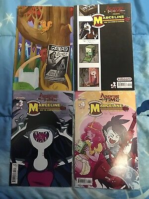 Marceline and The Scream Queens Issue 1-4 Lot