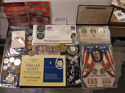 An Exceptional Lot Of Tokens-Medals-Coins & And Other Fine Items #23