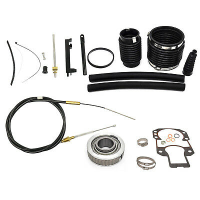 Transom Repair Kit w/ Shift Cable Gimbal Bearing For Mercruiser Alpha One Gen 1