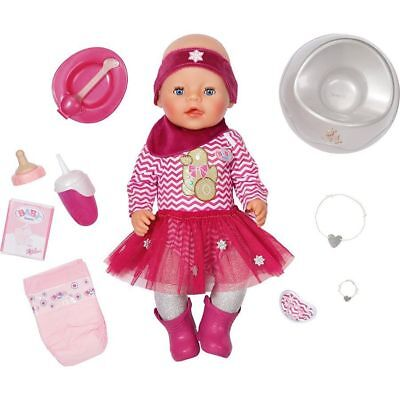 ZAPF CREATIONS Baby Born Interactive Doll Gingerbread Girl * Brand New