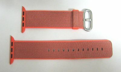 Genuine Apple Watch 42mm Orange/Anthracite Woven Nylon 3C435AM/A