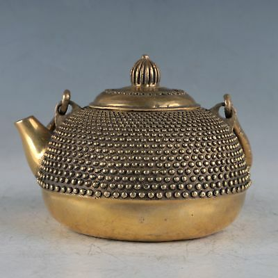 Chinese Exquisite Brass Teapots Made By The Royal Daqing HT0014`