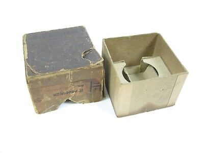 Obscure Model H Edison 4-minute Cylinder Phonograph Reproducer Box