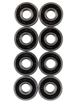 Bones Bearings silber Super Reds 608 - 8mm Skateboard Kugellager