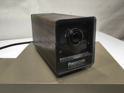 vintage panasonic auto stop electric pencil sharpener KP-77A