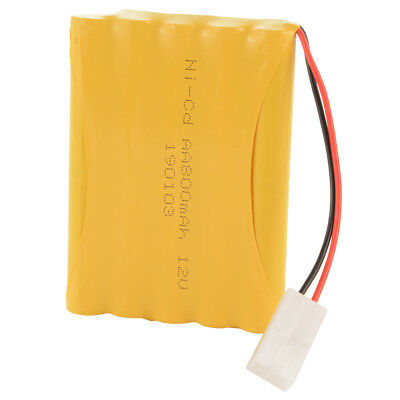 12V 800mAh Ni-Cd AA Flat Rechargeable Battery KET Plug for Electric Toys BC802