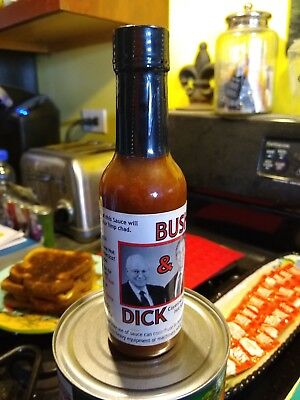 George Bush & Dick Cheney Hot Sauce, Novelty, Collectible, Unopened ~ Free...