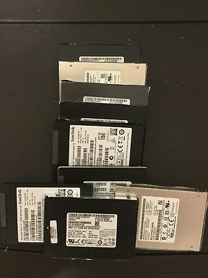 Lot Of 10x Mixed Sata 256 Ssd HDd Toshiba , Samsung , Scandisk