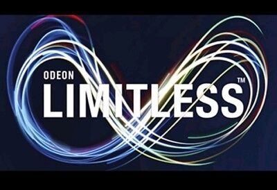 Odeon Limitless (without Central London) - 12 Months Unlimited Annual Membership