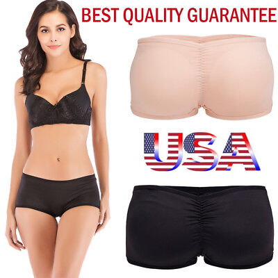 Women's Hip Enhancer Body Shaper Butt Lifter Push Up Bottom Padded Panties S-3XL