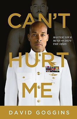 Can't Hurt Me Master Your Mind and Defy the Odds by David Goggins Hardcover NEW