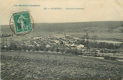 54 Flavigny Vue Panoramique - Aa 1783