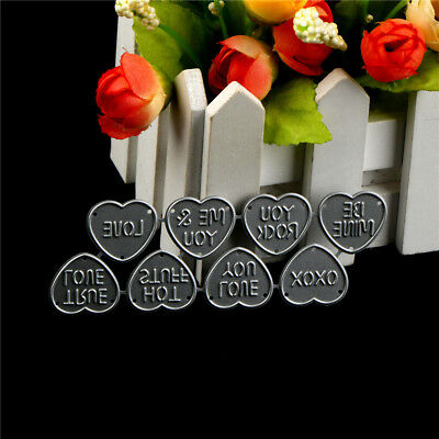 8Pcs Love Design Metal Cutting Die For DIY Scrapbooking Album Paper Card