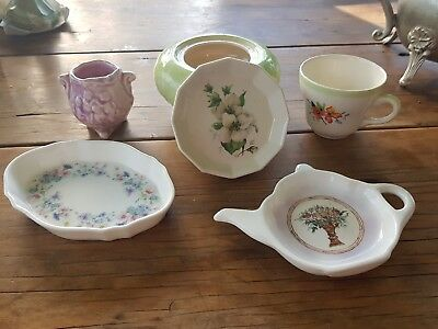 6 pieces of Vintage China .